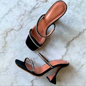 AMINA MUADDI Size EU 36 Gilda Sandals Heels 🖤💎
